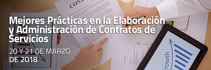 Mejores Prácticas en la Elaboración y Administración de Contratos de Servicios