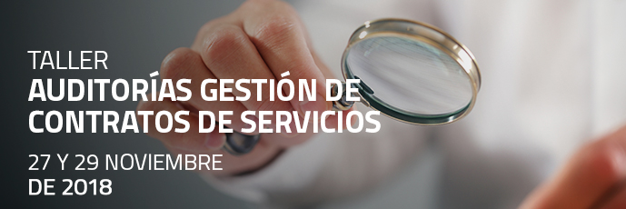 Taller Auditorías Gestión de Contratos de Servicios