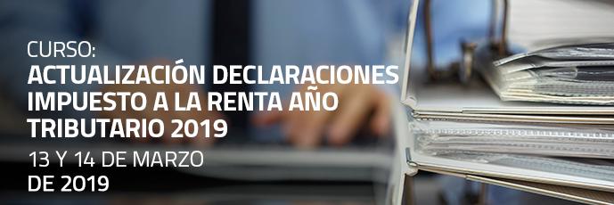 Actualización Declaraciones Impuesto a la Renta Año Tributario 2019