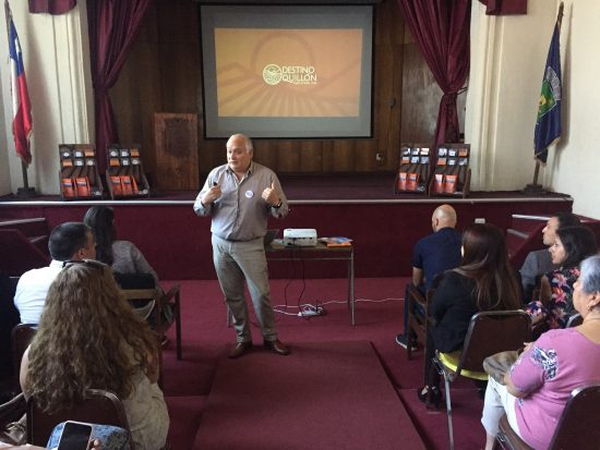 Irade colabora con empresas locales para promover turismo en Quillón