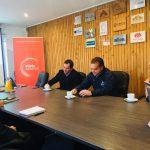 Irade e Intendente Giacaman definen agenda de trabajo en conjunto