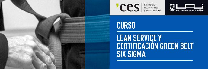 Curso Lean Service y Certificación Green Belt Six Sigma