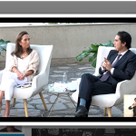 Directora de Irade Plantea amenazas del Biobío a ministro Briones