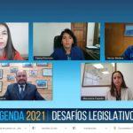 Líderes de Biobío transmiten preocupaciones del sector productivo a la presidenta del Senado